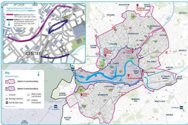 Bristol's Diesel Car Ban Explained